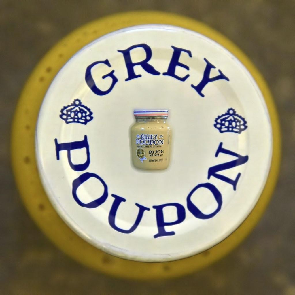 moutarde grey poupon